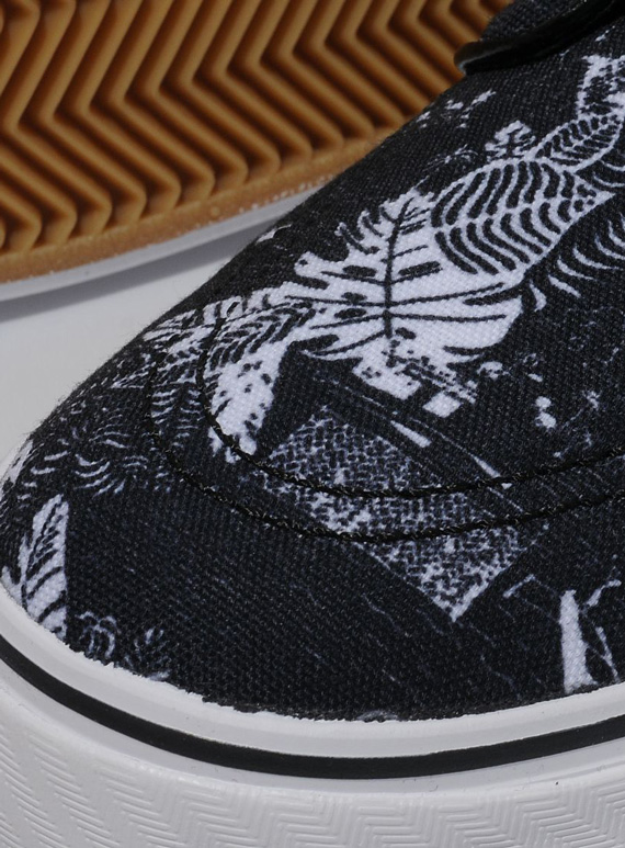 Nike Sb Janoski Svart Floral For Salg 4MY61