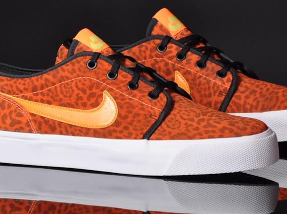 Nike Toki Low Premium FB quot Orange Leopardquot