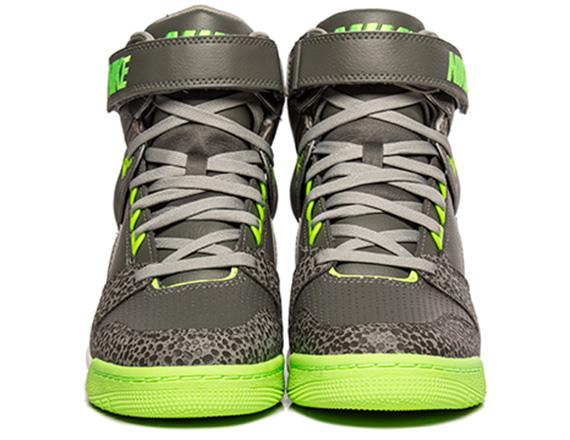 info for dae8f 13806 Nike WMNS Air Revolution Sky Hi - Grey - Neon - Safari - Sne