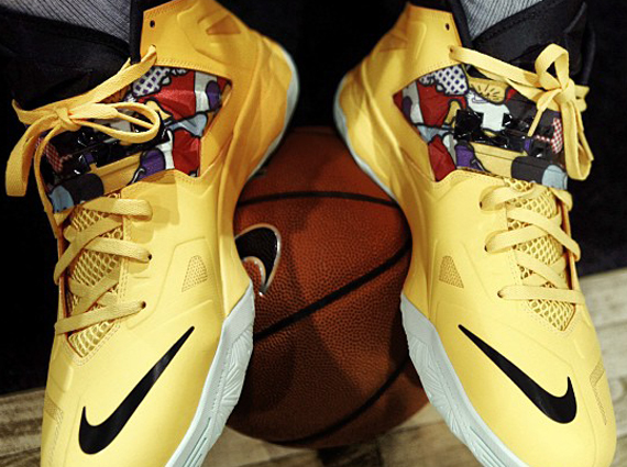 Lebron Soldier 7 Yellow LeBron James himself has