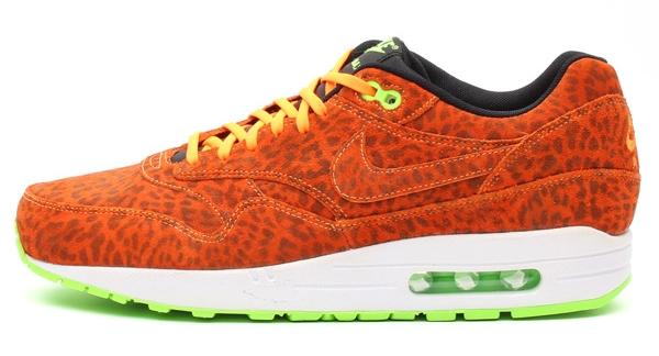 nike air max 1 fb orange leopard buy