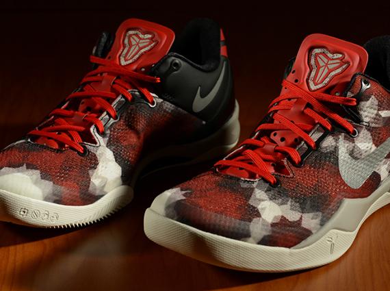 Buy 2015 Nike Kobe 8 Cheap sale System Milk Snake University Red