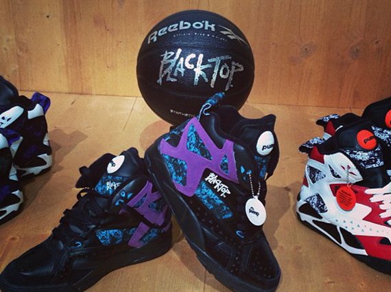 fa0b9d71e89e There s even more to be had from the upcoming Reebok Pump Blacktop II line  up than we saw the other day. Shown is a full trio of colorways that are on  their ...