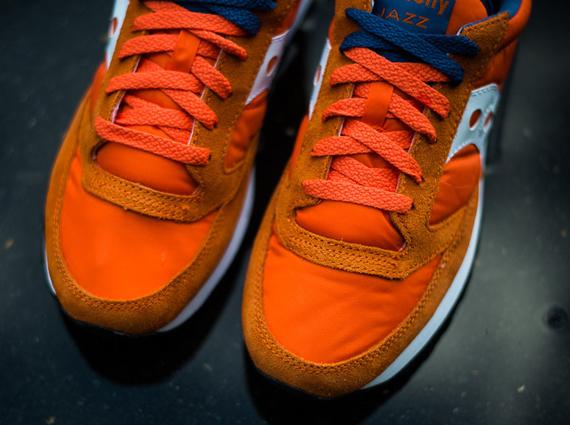 Saucony Jazz Original - Orange - Blue