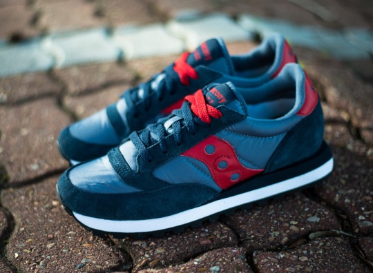 Saucony Jazz Original – Navy – Red – White