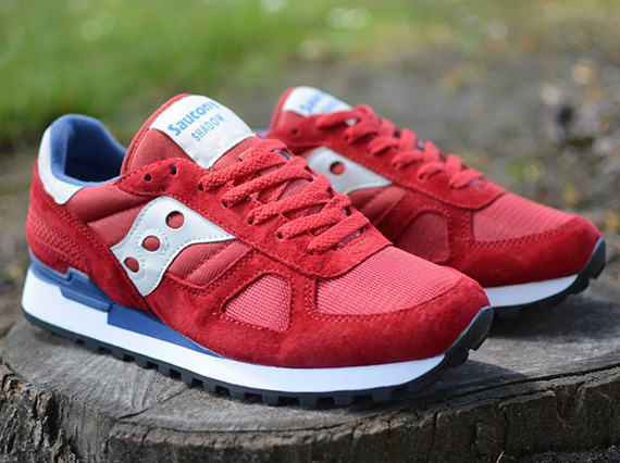 buy online 68d41 ec52d Saucony Shadow Original - Red - Blue - SneakerNews.com