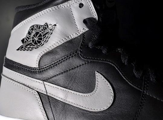 Air Jordan 1 Retro High OG – Black – Soft Grey