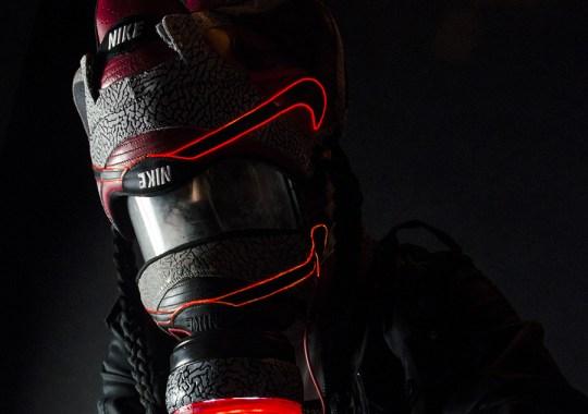 Supreme x Nike SB Dunk Low Gasmask by Freehand Profit