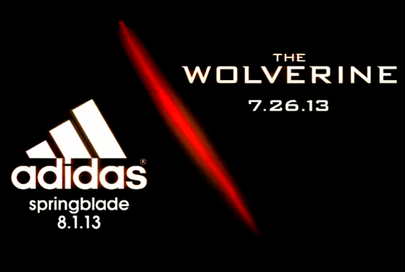 tomar Son Descolorar  adidas Springblade Partners with The Wolverine - SneakerNews.com
