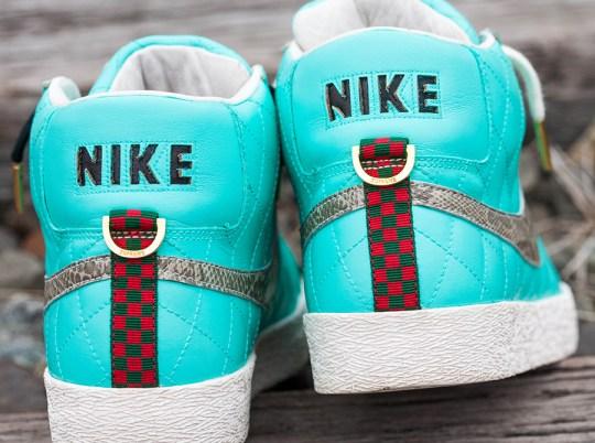 "Supreme x Nike SB Blazer ""Tiffany"" Customs by Jwizvr6"