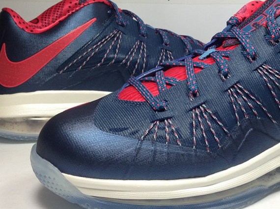 Nike LeBron X Low quot USAquot Available Early on eBay