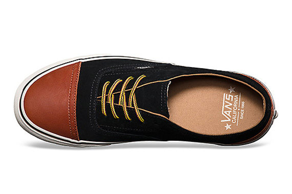 b30d236bcd Vans California Era Brogue - Black - Brown - SneakerNews.com