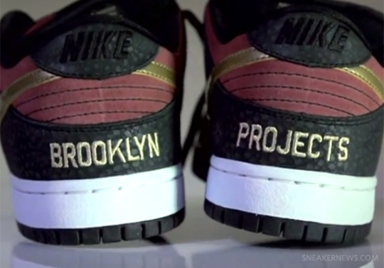 """Brooklyn Projects x Nike SB Dunk Low """"Walk of Fame"""" – Preview Video"""
