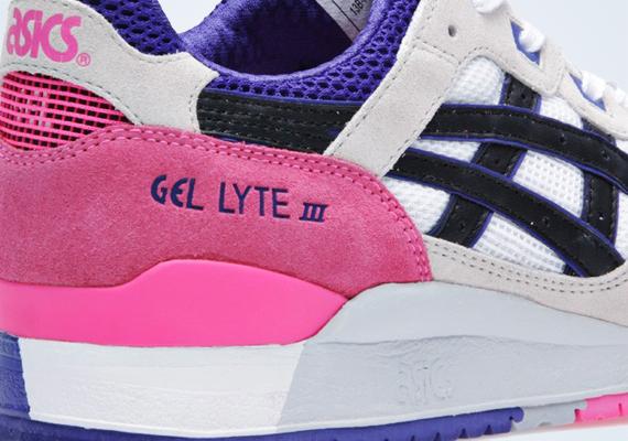 Asics Gel Lyte III White Pink Purple  77b83bf247