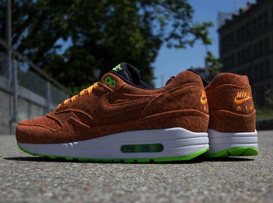 "Nike Air Max 1 FB ""Orange Leopard"" – Available"