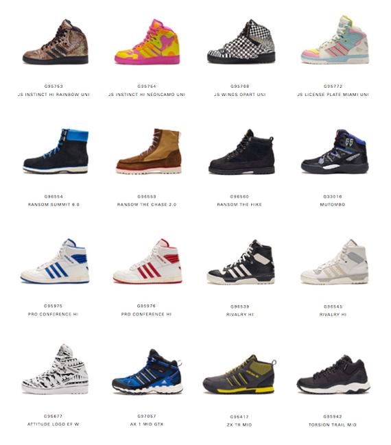 Solicitante Vaciar la basura Mal funcionamiento  adidas Autumn/Winter 2013 Footwear Preview - SneakerNews.com