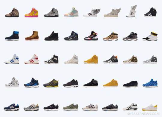 adidas Autumn/Winter 2013 Footwear Preview