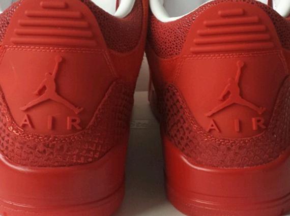 air jordan 3 all red