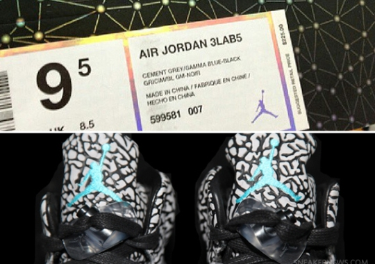 Air Jordan 3Lab5 – Retail Price