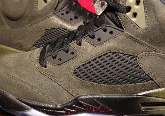 """Air Jordan 5 """"Fear"""" – Available Early on eBay"""