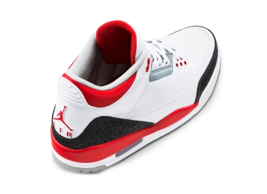 "Air Jordan III ""Fire Red"" – Release Reminder"