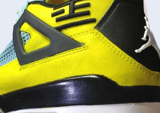 "Air Jordan IV ""Big in Japan"" by Twizz Customs"