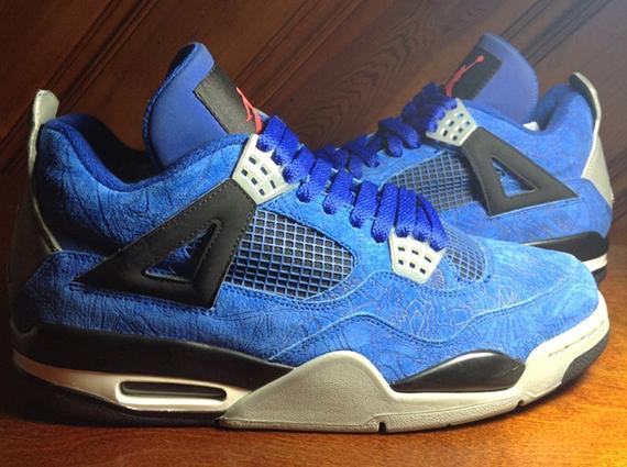all blue air jordans