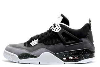 "outlet store 2bcbd e8862 Air Jordan IV Black White-Cool Grey-Pure Platinum 626969-030 08 24 13  175  More  Air Jordan IV ""Fear""Purchase  on eBay"