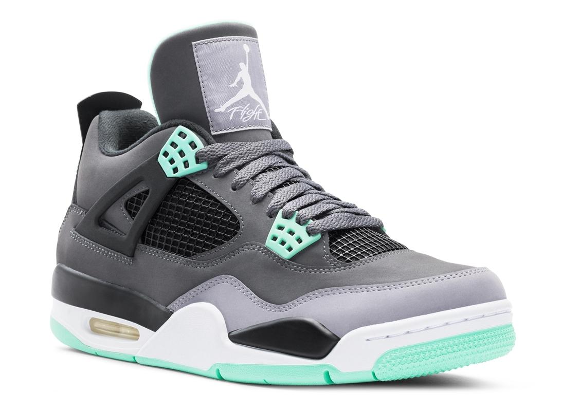 "Air Jordan IV ""Green Glow"""