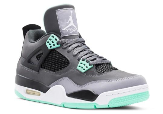 "Air Jordan IV ""Green Glow"" – Official Images"