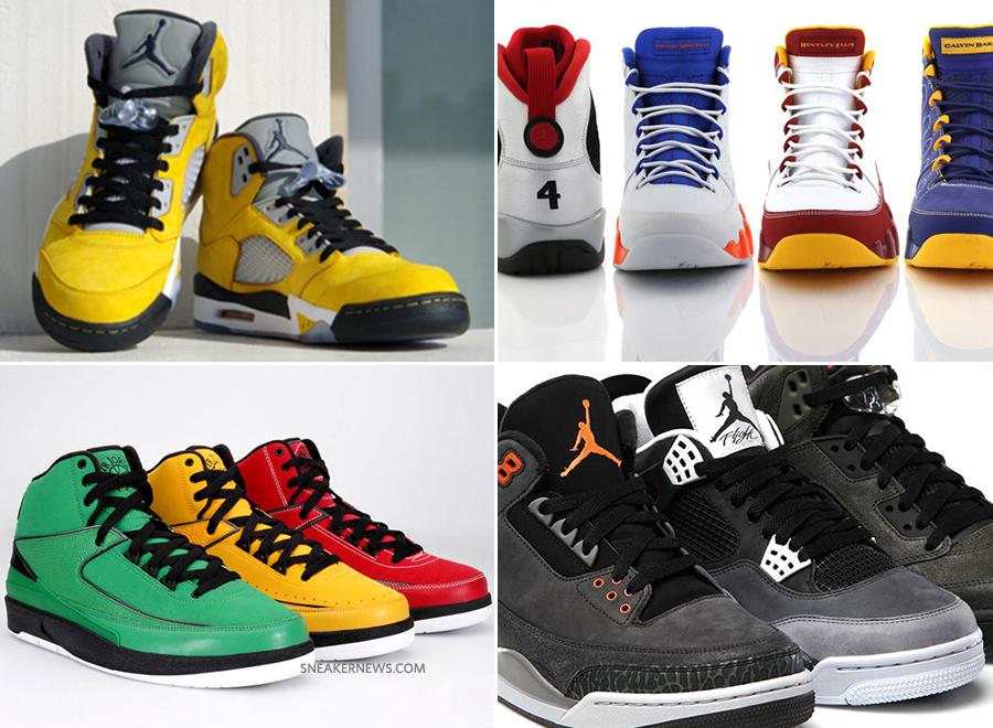 A Look Back at Memorable Air Jordan Packs