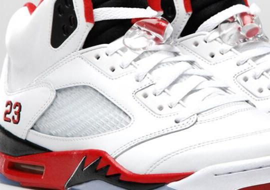 "Air Jordan V ""Fire Red"" – Official Image"