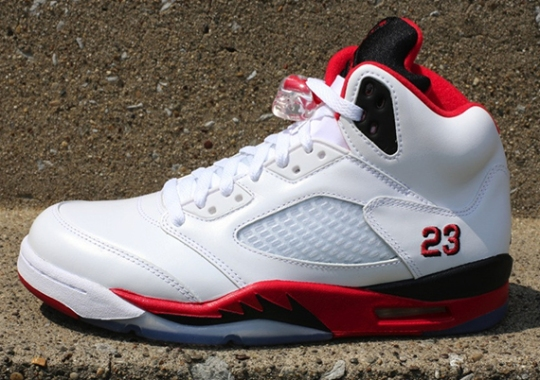 """Air Jordan V """"Fire Red"""" – Release Reminder"""