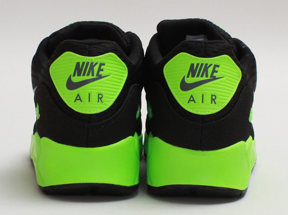 huge selection of e321a 7355b Nike Air Max 90 EM – Black – Flash Lime   Available