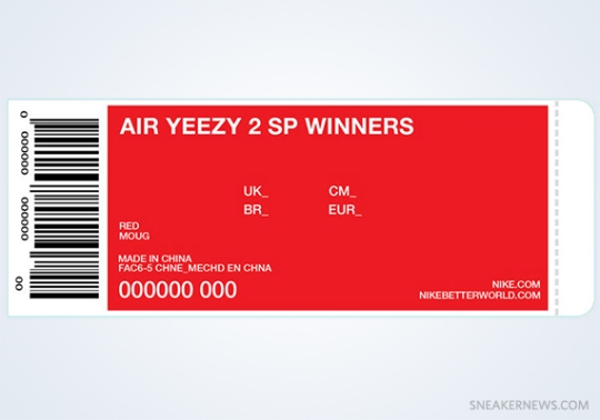 "Nike Air Yeezy 2 ""Red October"" Winners Announced"