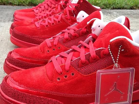 All-Red Air Jordans