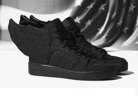 "A$AP Rocky x adidas Originals Jeremy Scott Wings 2.0 ""Black Flag"""