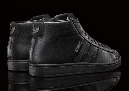"Big Sean x adidas Originals Pro Model II ""Black"" – Officially Unveiled"