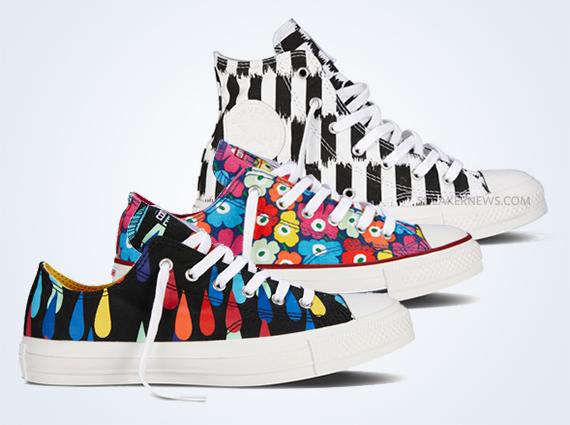 Marimekko x Converse FallWinter 2013 Footwear