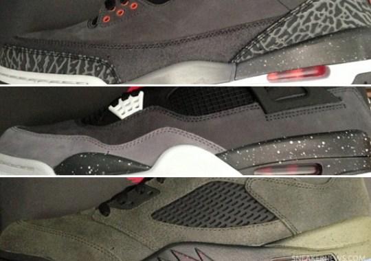 "Air Jordan ""Fear Pack"" Release Date"
