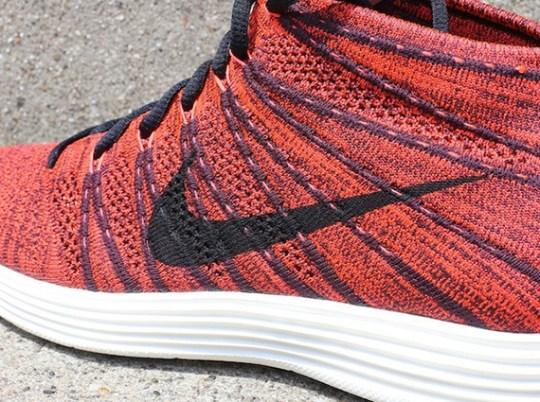 Nike Lunar Flyknit Chukka – Deep Burgundy – Black – Bright Crimson   Available