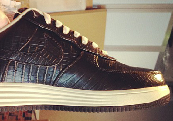 "finest selection 0ebf5 21f01 fragment design x Nike Lunar Force 1 ""Brown Croc"""
