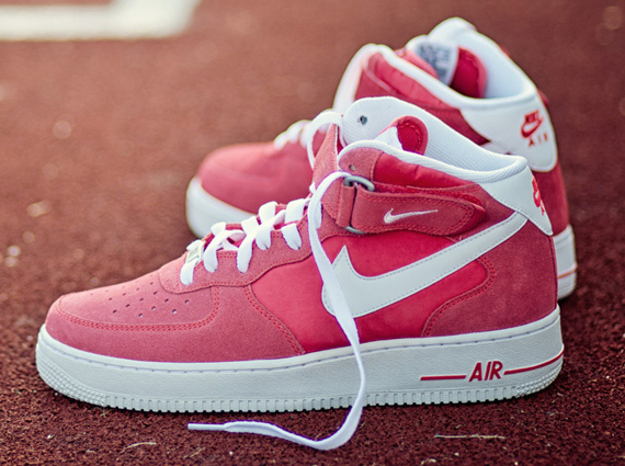 nike air force 1 mid blazer – fusion red