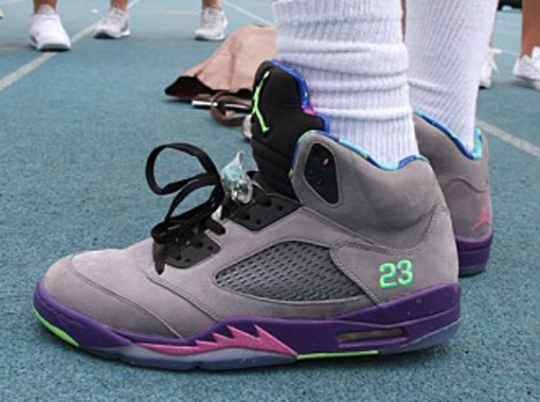 "Gilbert Arenas in Air Jordan V ""Bel-Air"""