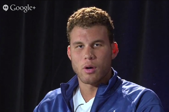 Google+ Hangout with Blake Griffin and the Jordan Super.Fly 2
