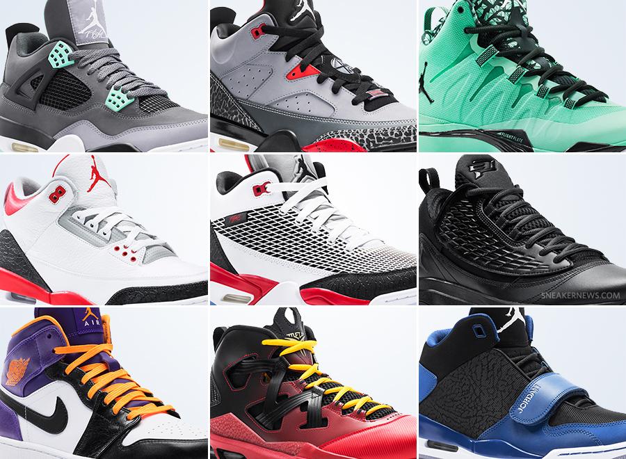 official photos 942dc e51a5 Jordan Brand August 2013 Footwear - SneakerNews.com