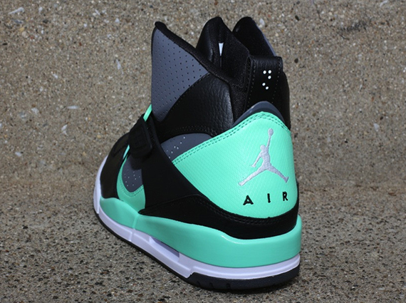 Jordan Flight 45 High Black Dark Grey-Green Glow 384519-015. show comments cf38ebf69