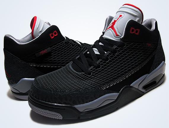Jordan Flight Club 80s - Black - Gym Red - Anthracite - SneakerNews.com 50462b4b24
