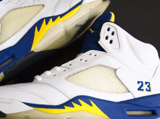 "Air Jordan V ""Laney"" Alternate 23 Sample on eBay"