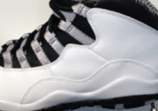 "Air Jordan X ""Steel"" – Release Date"